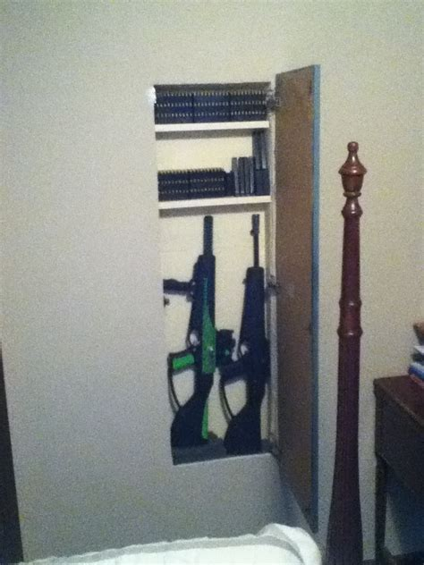 Diy Hidden Wall Storage