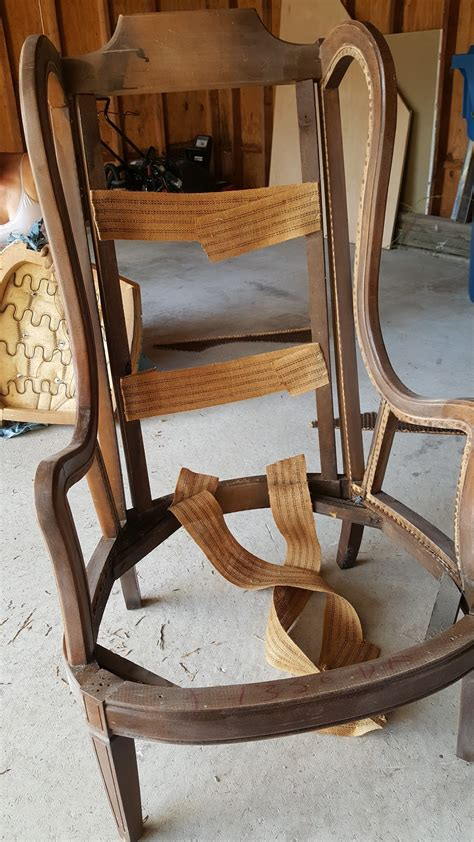 Diy High Back Chair