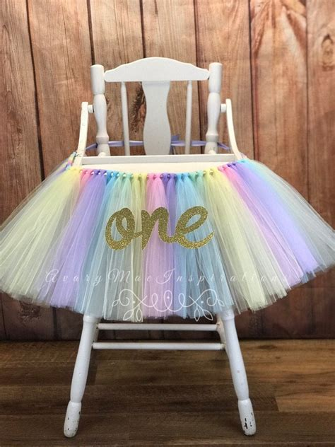 Diy High Chair Cover For Birthday
