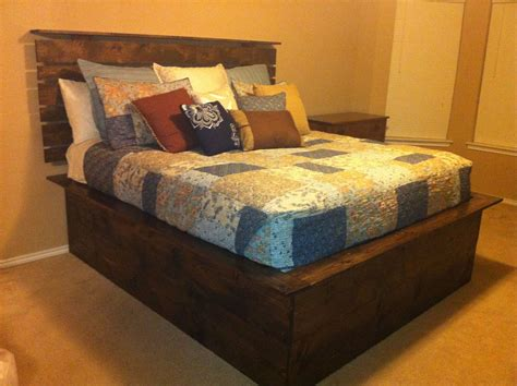 Diy High Platform Beds