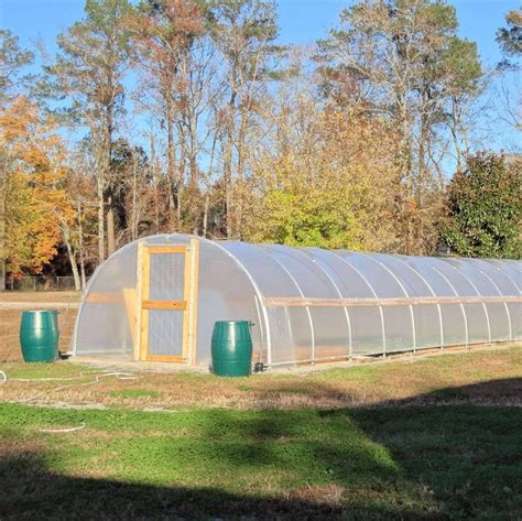 Diy High Tunnel Greenhouse