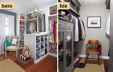 Diy His And Hers Closets