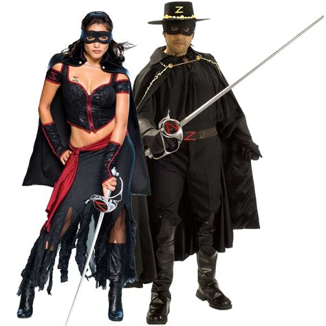 Diy His And Hers Zorro Costumes
