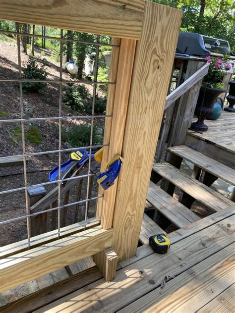 Diy Hog Wire Railing