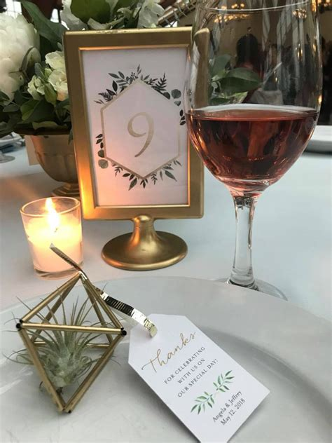 Diy Holders For Table Numbers
