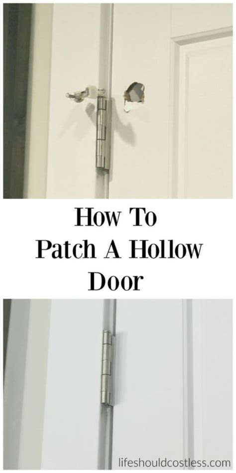 Diy Hollow Metal Door Repair