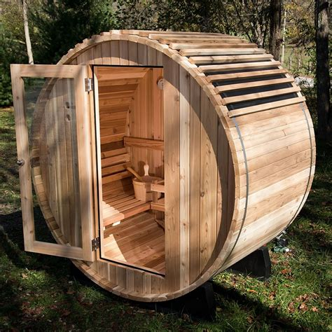 Diy Home Barrel Sauna