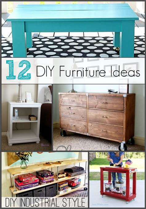 Diy Home Furniture Projects Pinterest