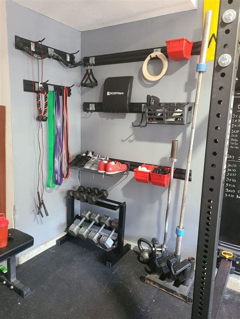 Diy Home Gym Storage Closet