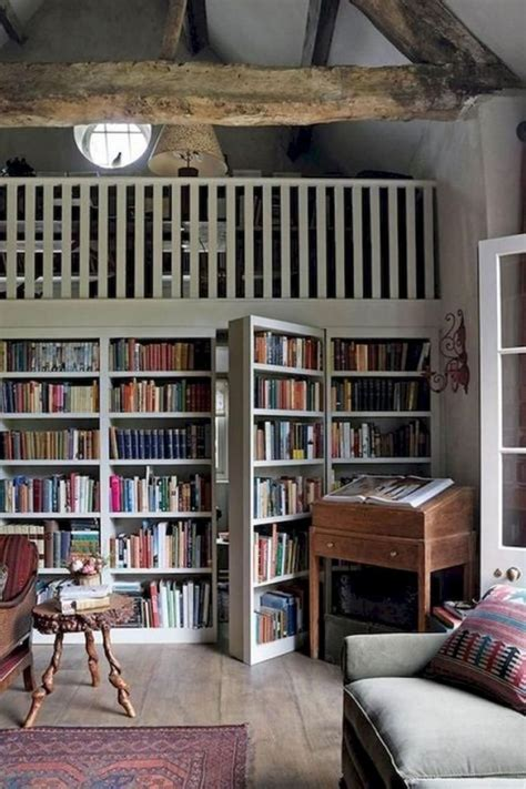 Diy Home Library Plans