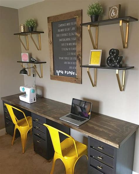 Diy Home Office Desk For Two