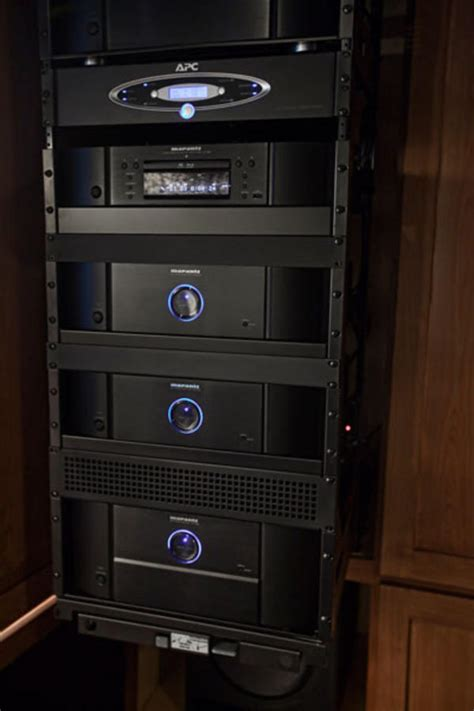 Diy Home Theater Component Rack