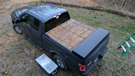 Diy Homemade Wood Tonneau Cover