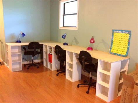 Diy Homeschool Desks