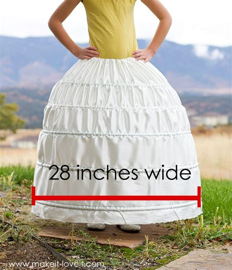 Diy Hoop Skirt Frame For Kids