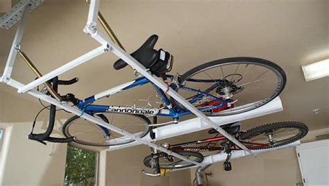Diy Horizontal Bike Storage