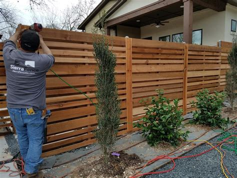 Diy Horizontal Fence Plans