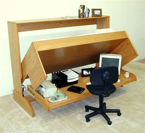 Diy Horizontal Murphy Bed With Desk