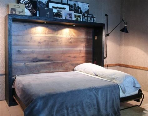 Diy Horizontal Murphy Bed Without Kitco
