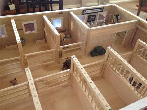 Diy Horse Stable Doll
