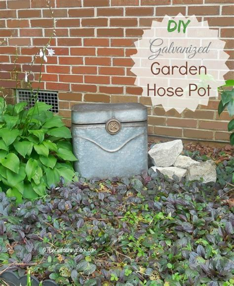 Diy Hose Holder Pot