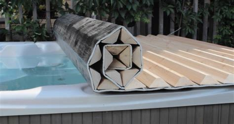 Diy Hot Tub Cover Stand