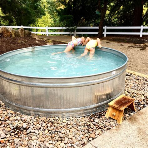 Diy Hot Tub Plans Stock Tanks