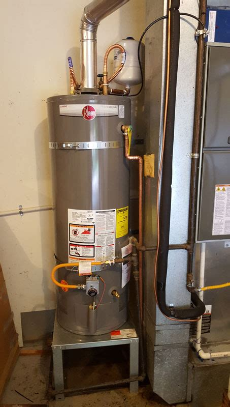 Diy Hot Water Heater Stand