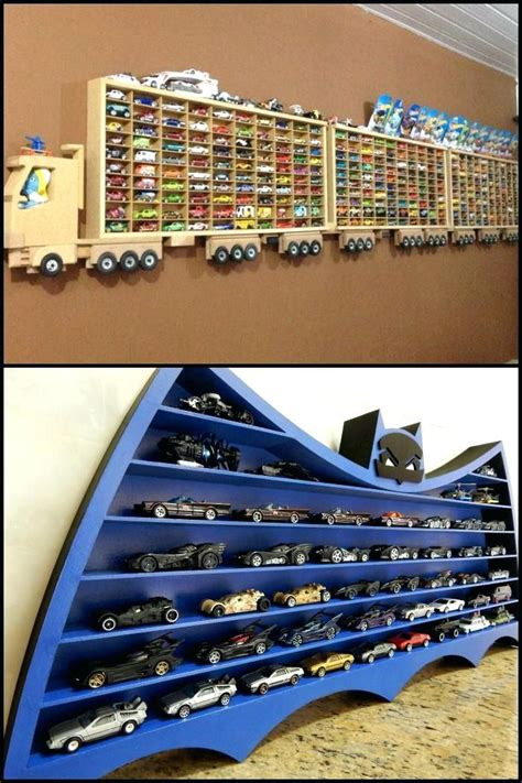 Diy Hot Wheels Display Storage