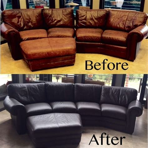 Diy How To Dye A Leather Sofa