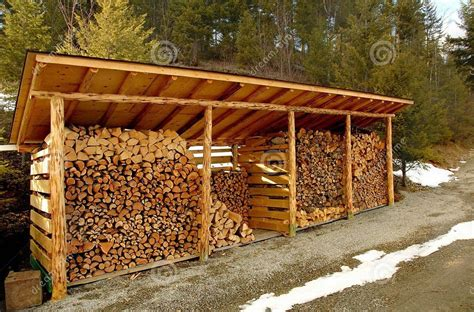 Diy How To Make A Fire Wood Shed