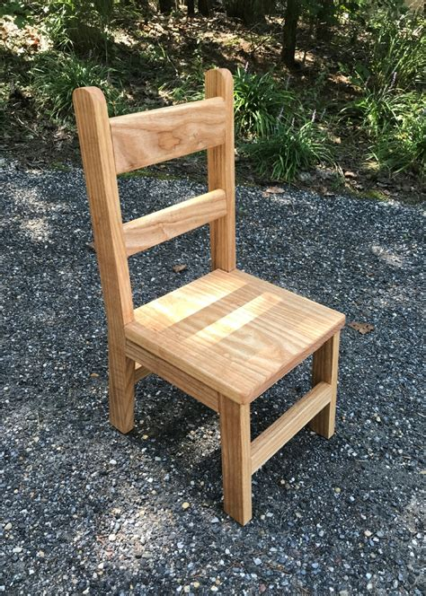 Diy How To Make A Kids Wooden Chair