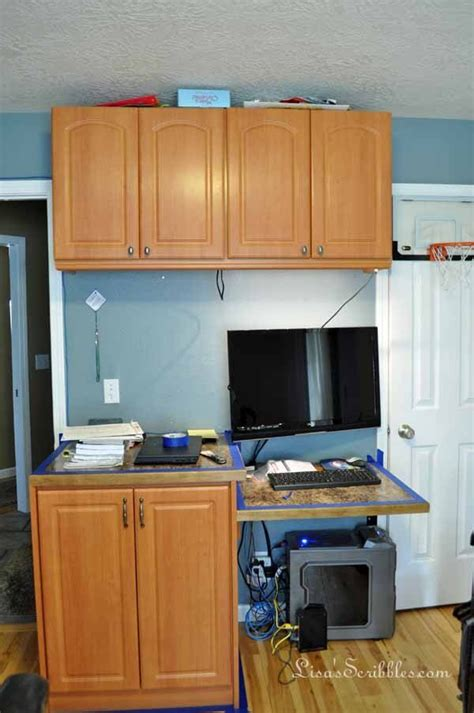 Diy How To Stain Laminate Cabinets