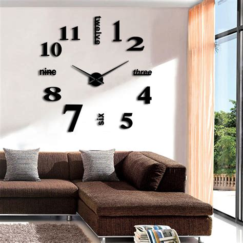 Diy Huge Wall Clock