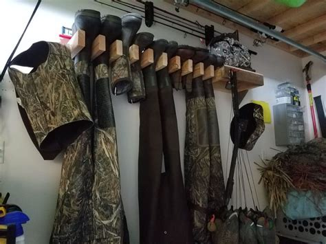 Diy Hunting Gear Storage