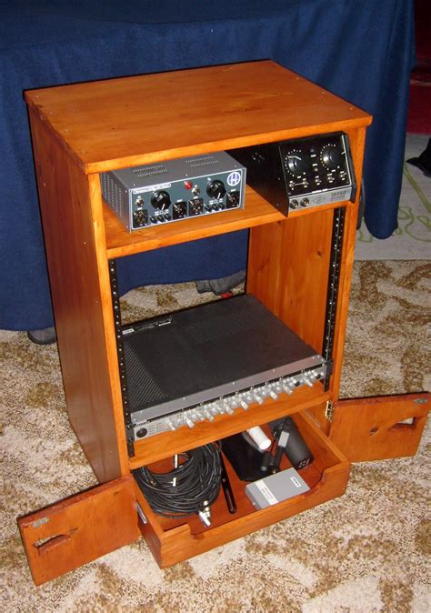 Diy Hutch With 19 Rack Panels