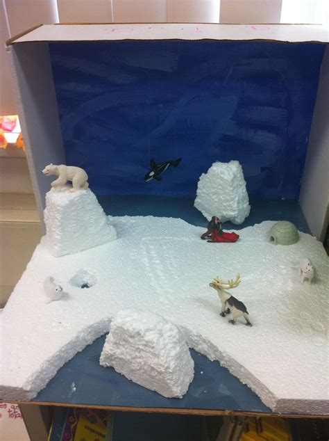 Diy Ice Box School Project Pinterest