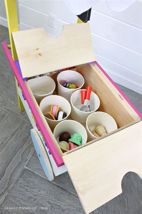 Diy Ice Cream Cart Images
