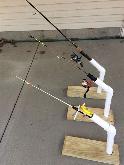Diy Ice Shack Rod Holders