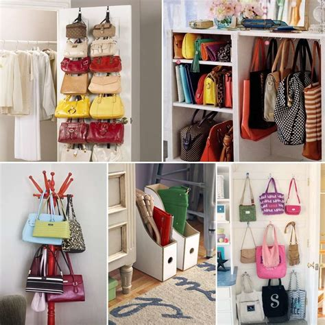Diy Ideas For Handbag Storage