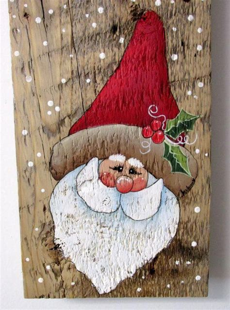 Diy Ideas For Wood Paintings For Christmas