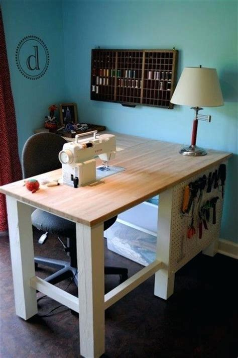 Diy Ikea Craft Sewing Table Ideas