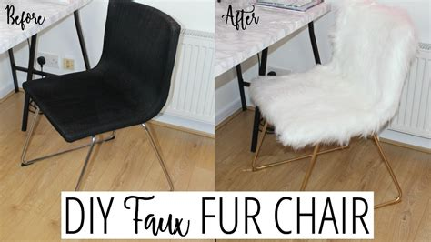 Diy Ikea Fur Chair