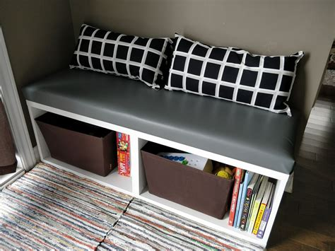 Diy Ikea Shelf Bench