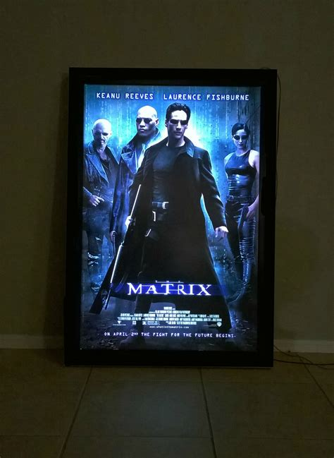 Diy Illuminated Movie Poster Light Box