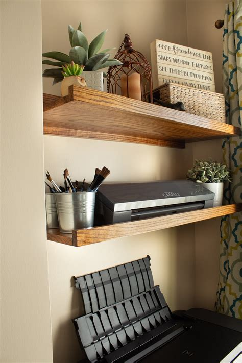 Diy In Wall Shelves