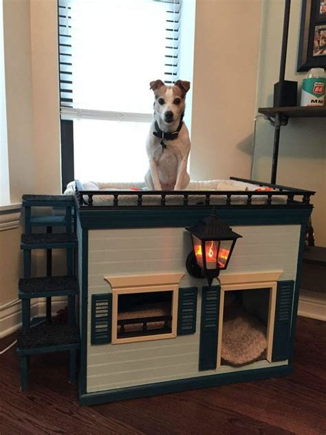 Diy Indoor Dog House Plans