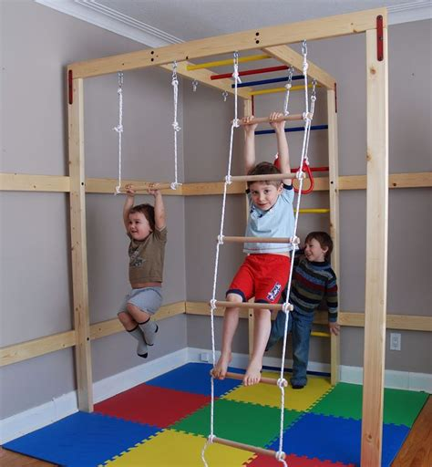Diy Indoor Jungle Gym For Toddlers