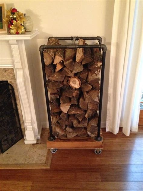 Diy Indoor Log Rack