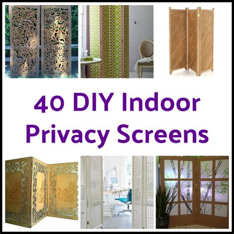 Diy Indoor Privacy Screens
